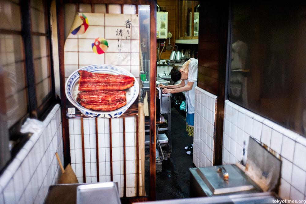 Tokyo's oldest shop owner