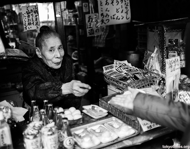 old Japanese shopkeeper