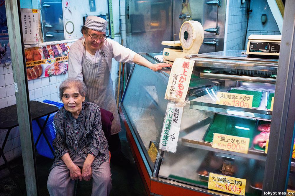 old Tokyo shopper conversations