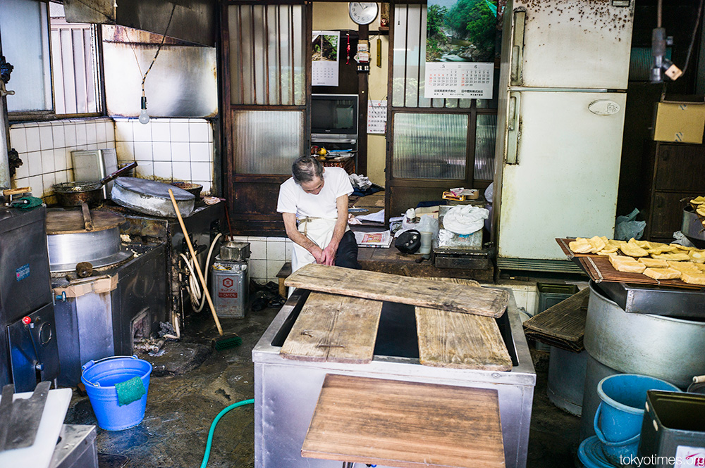 Traditional Japanese tofu shop