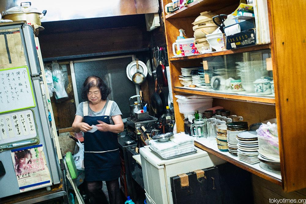 Tokyo bar kitchen