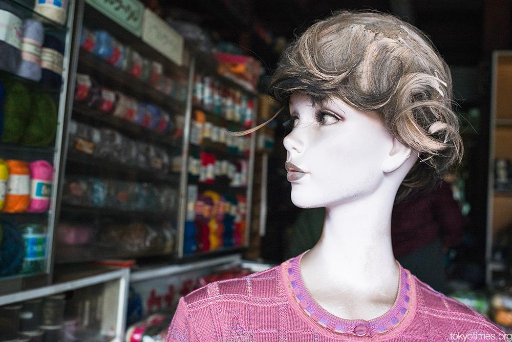 old Tokyo shop mannequin