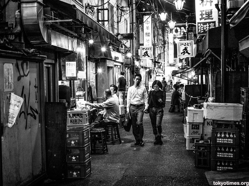 old Tokyo street