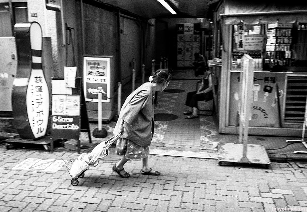 old Tokyo in modern Tokyo