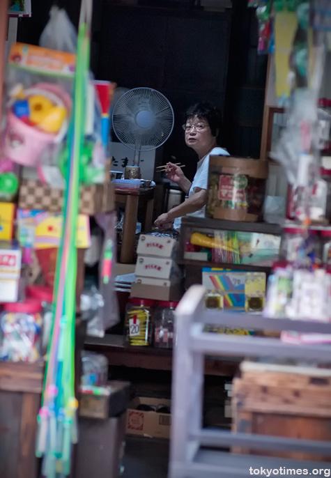 traditional Tokyo shop
