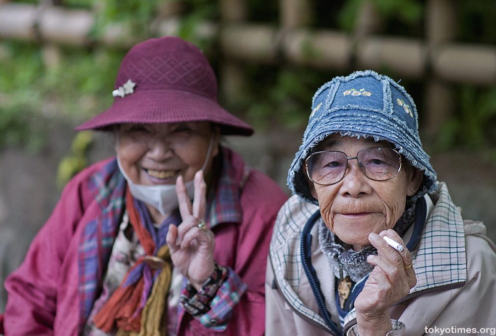 Image result for japanese old ladies