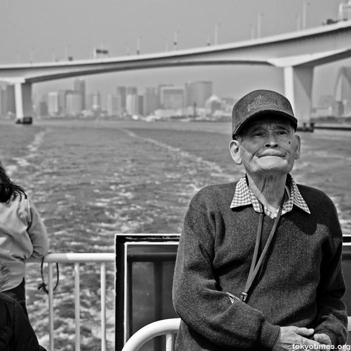 Tokyo Bay boat cruise