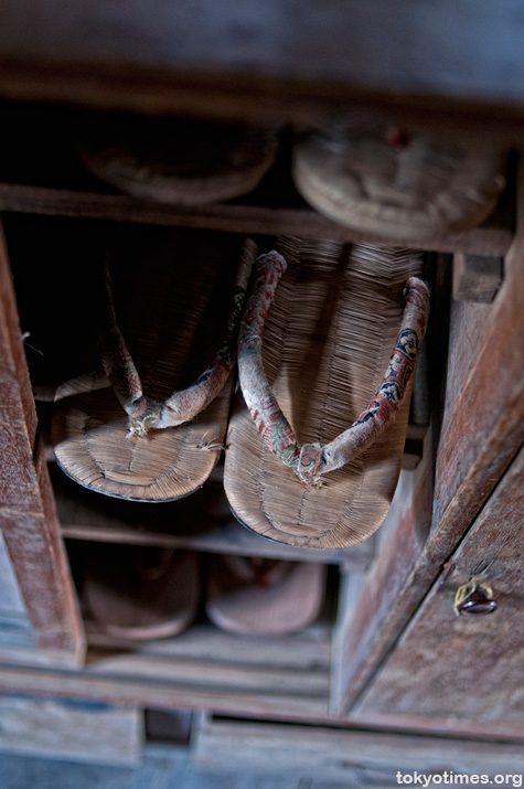old Japanese shoes