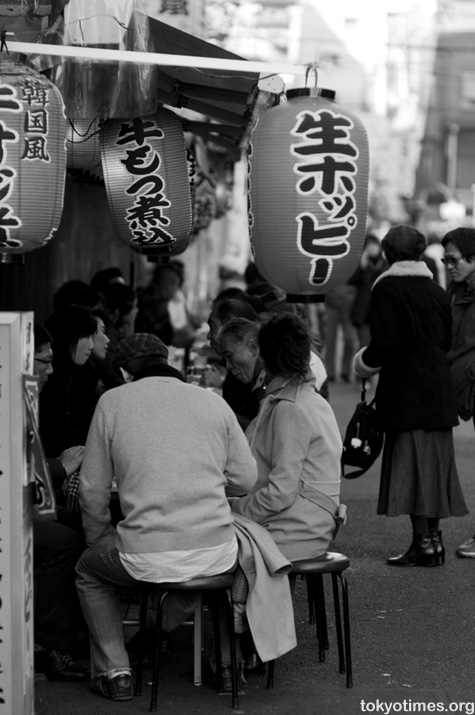 Japanese outdoor eating