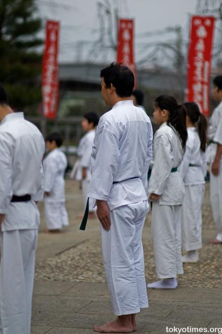 Karate in Tokyo