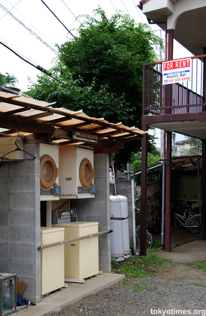 old Japanese apartment