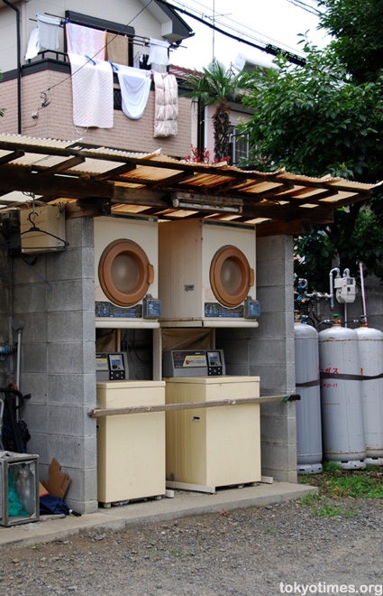 Japanese washing machines