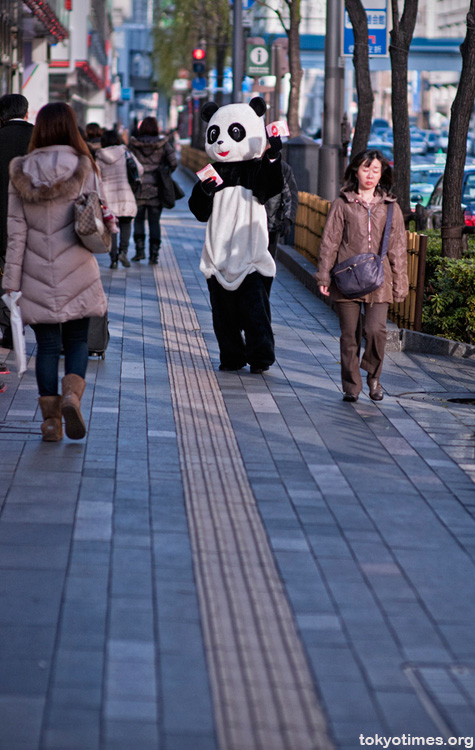 Tokyo panda suit