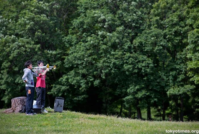 Japanese trumpeters