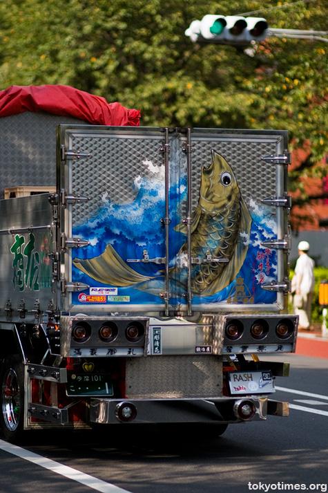Japanese customised truck