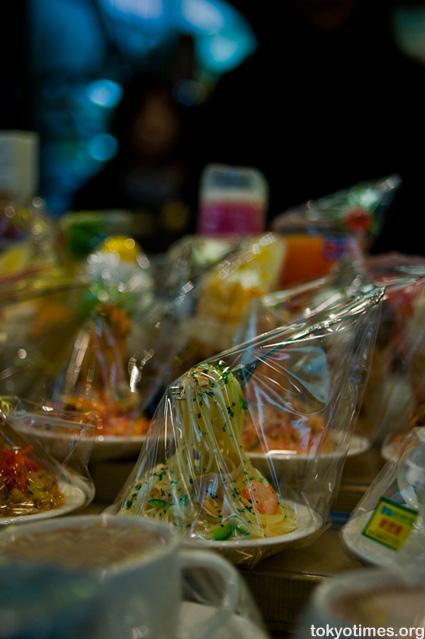 Japanese plastic food