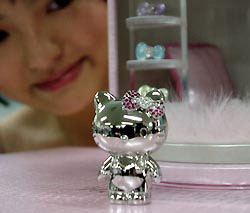 platinum hello kitty