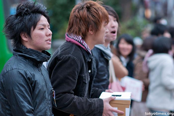 Shibuya fashion after the earthquake