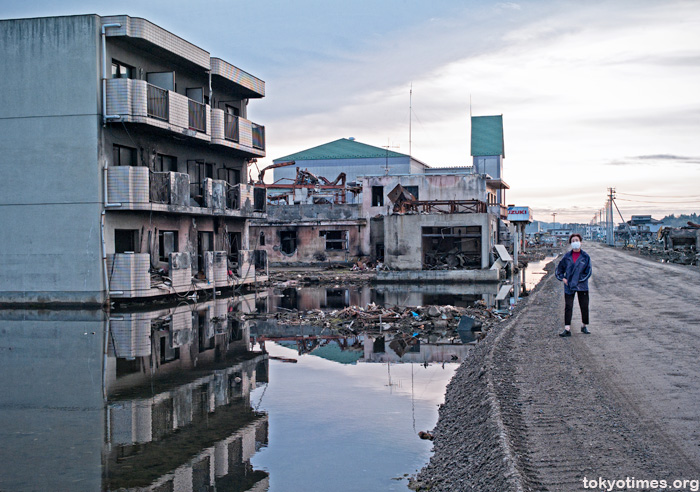 A year after the earthquake and tsunami
