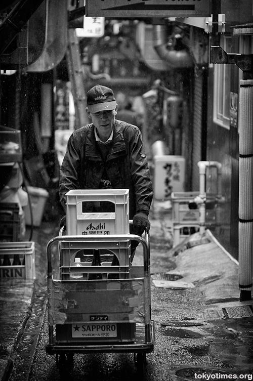 Tokyo rainy season