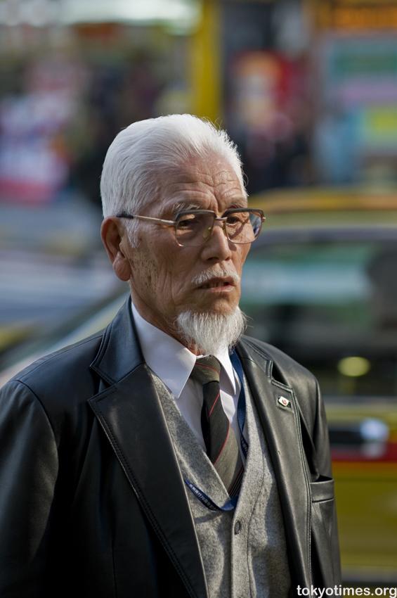 Japenesse Oldman