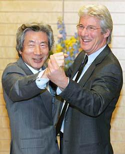 gere and koizumi