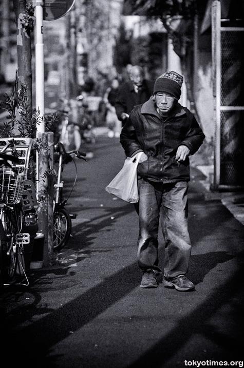 Sanya, home to Tokyo's working poor