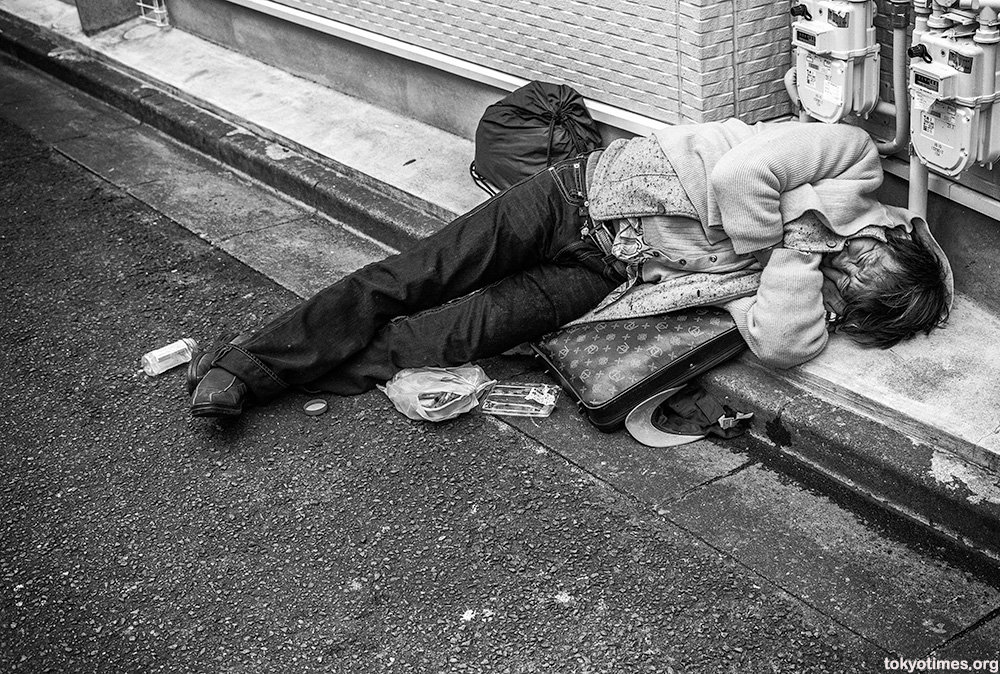 Tokyo poor and homeless in Sanya