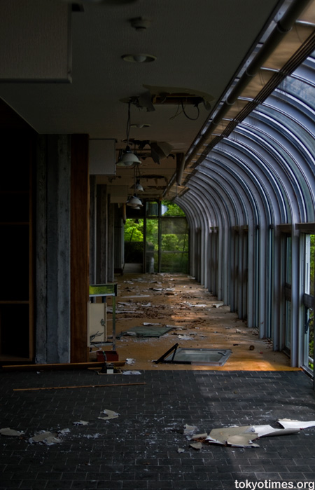 Japanese abandoned building