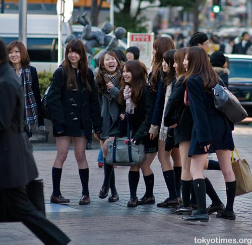 Japanese schoolgirl fashion