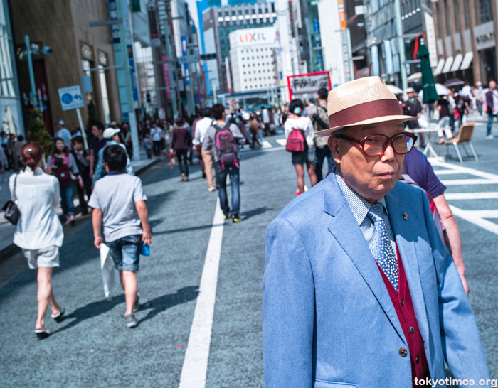 Japanese old man fashion