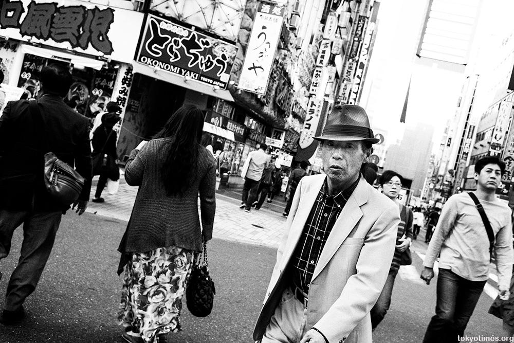Shinjuku in monochrome