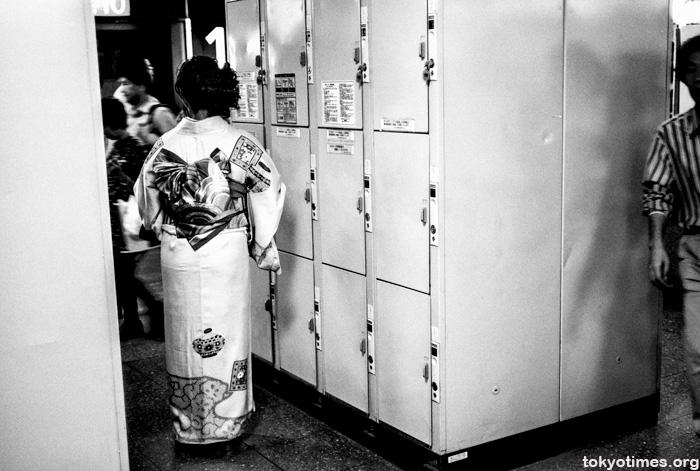 traditional kimono in Tokyo