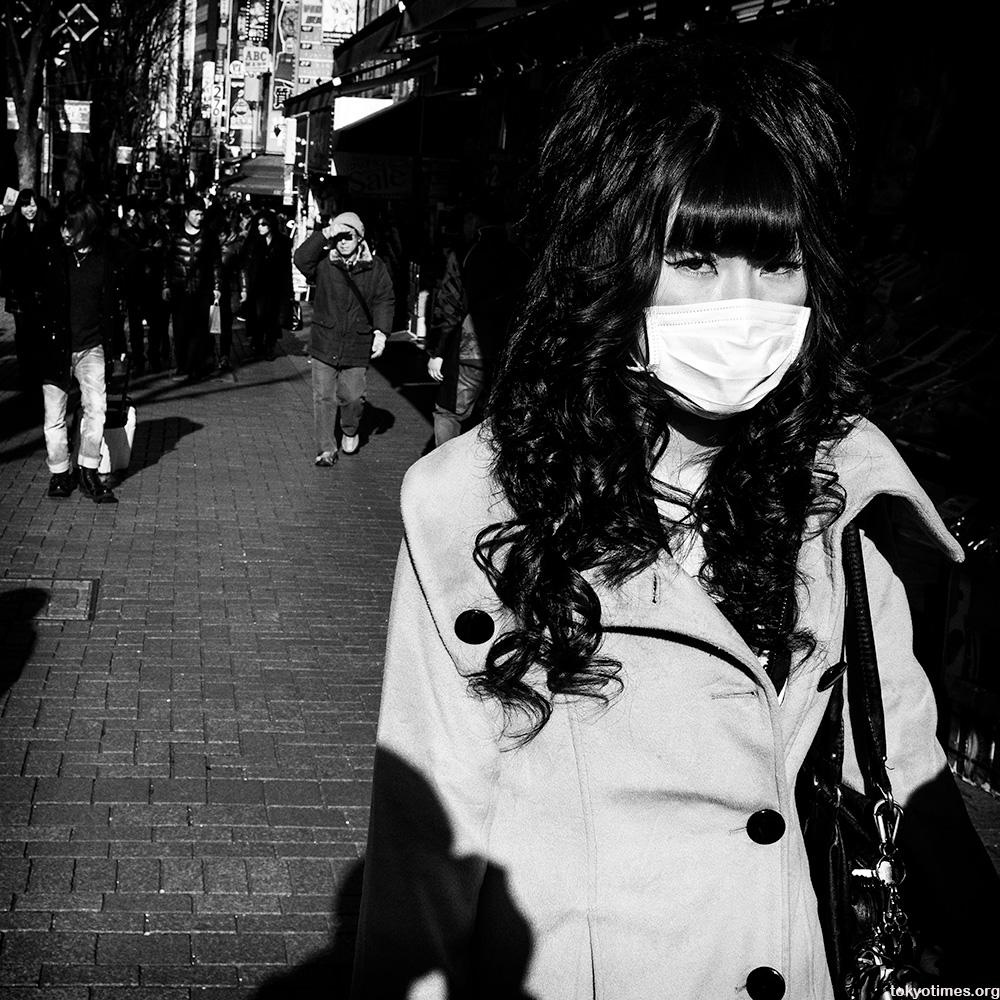 Shinjuku girl looks