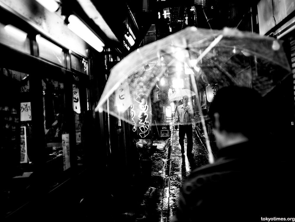 Japanese plastic umbrella