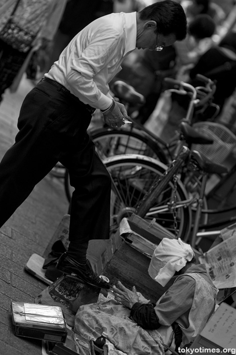 Tokyo shoeshine