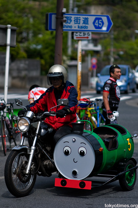 Japanese Thomas the Tank Engine sidecar