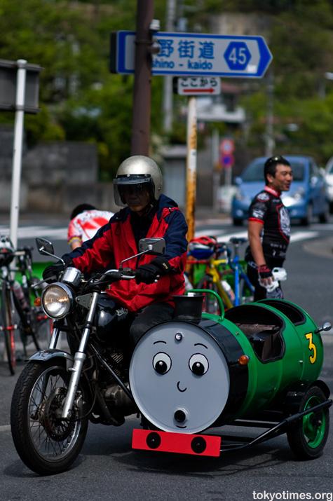 Japanese Thomas the Tank Engine sidecar