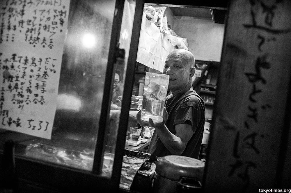 Tokyo bar owner big drinks