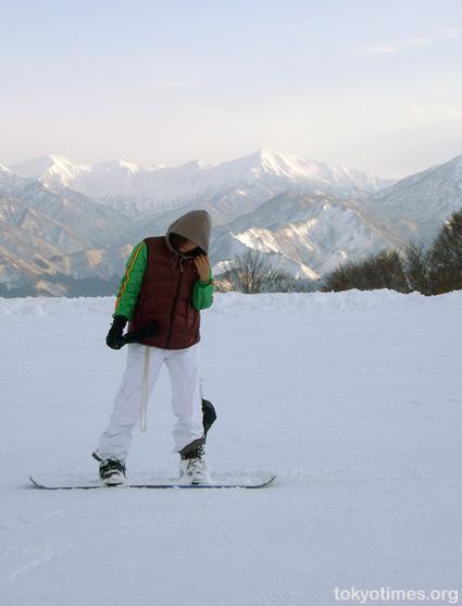 Japanese snowboarding