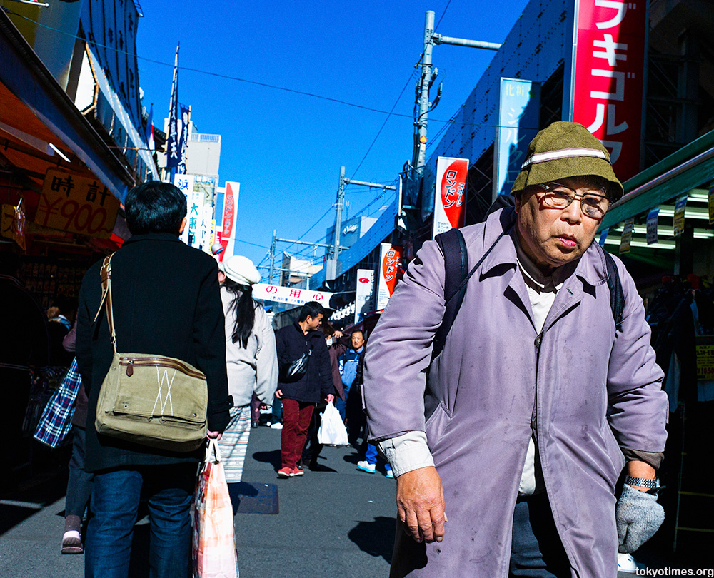 The story of a Tokyo man