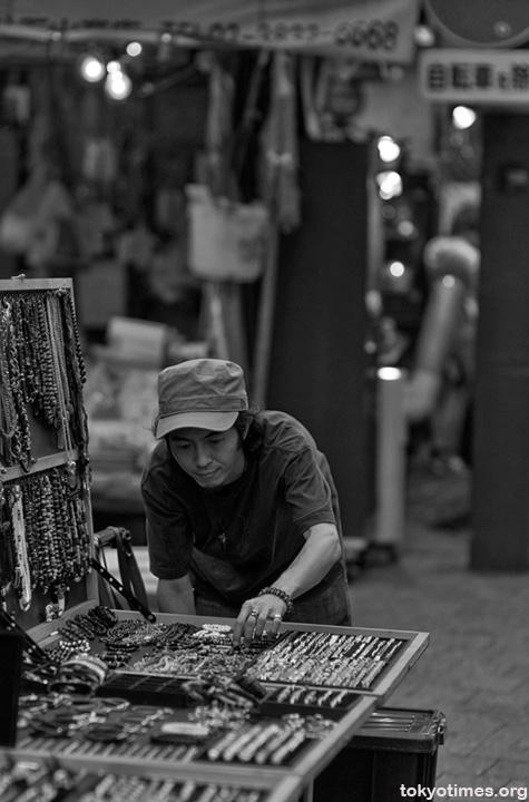 Japanese jewellery seller