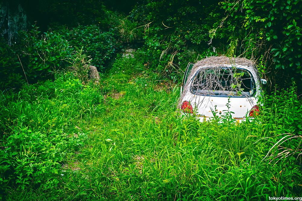 Japanese suicide car