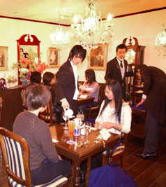 swallowtail butler café Japan