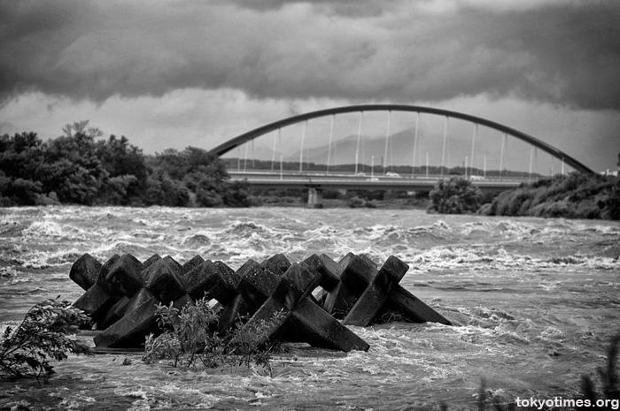 Tama River typhoon