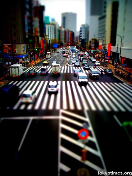Tokyo tilt-shift