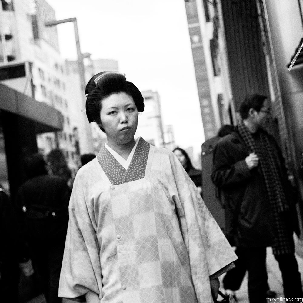 timeless kimono in Tokyo