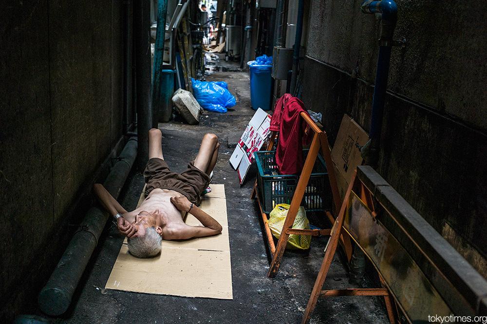 tough Tokyo alley life