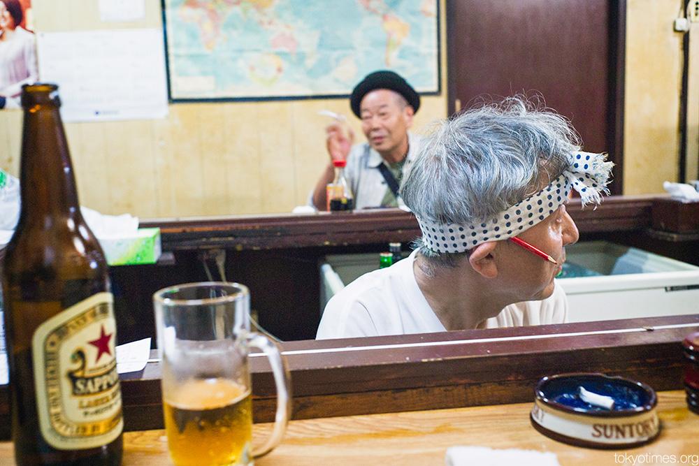 Tokyo bar characters
