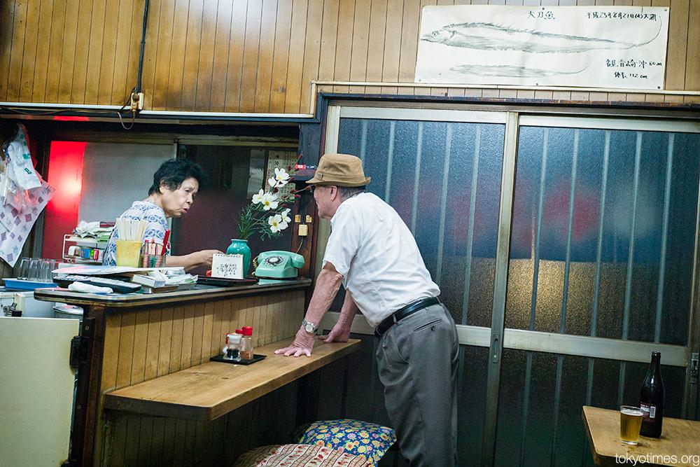 Tokyo bar conversation